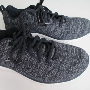 SPORT Womens Athletic Sneakers Shoes 8.5 Navy Blue